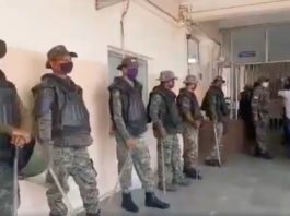 Security forces in TMH