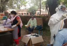 Corona test drive in Jamshedpur