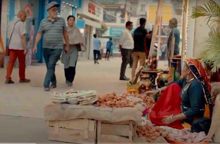 Beautiful HP ad on Diwali