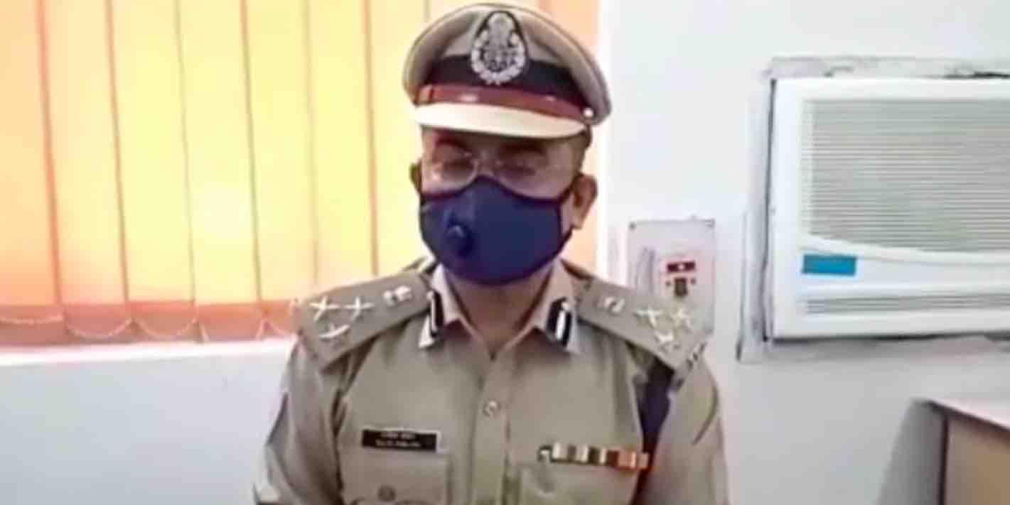 Kolhan DIG Rajeev Ranjan Singh visits Telco Police Station